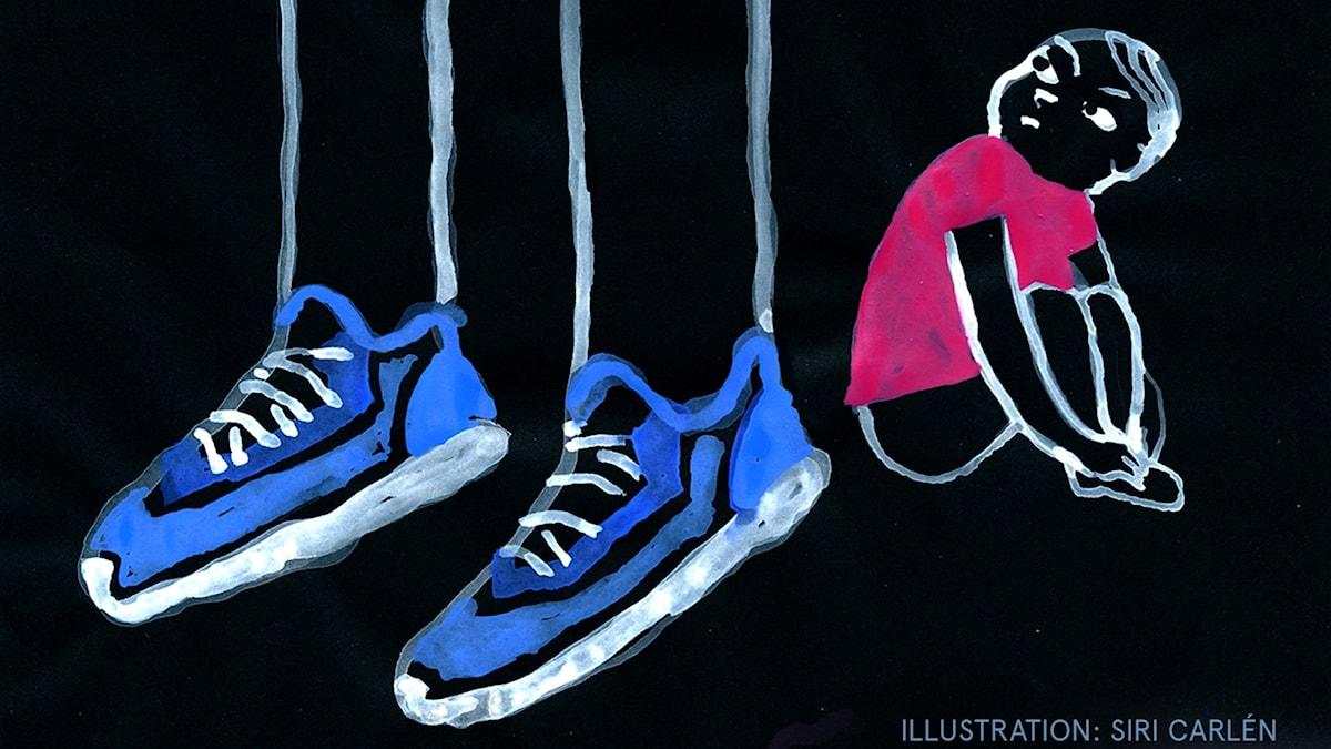 Barnmorgonlåtar Del 1: Lucias lillebror Illustration: Siri Carlén