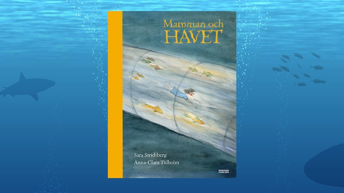 Mamman och havet. Av: Sara Stridsberg och Anna-Clara Tidholm (Bonnier Carlsen)