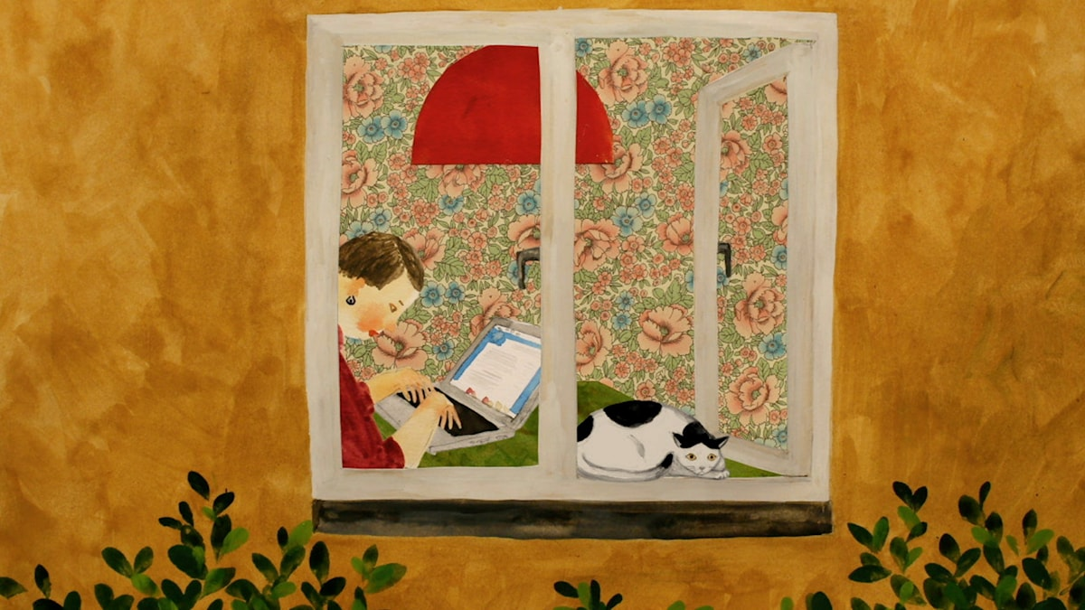 Tripp Trapp Träd: Katten Illustration: Sara Lundberg