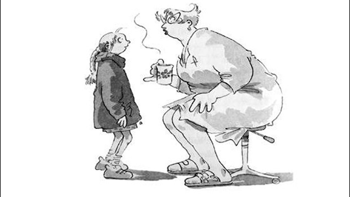 Frankensteinaren del 5. Illustration: Christina Alvner