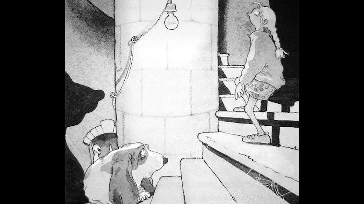 Monsterakademin del 2. Illustration: Christina Alvner