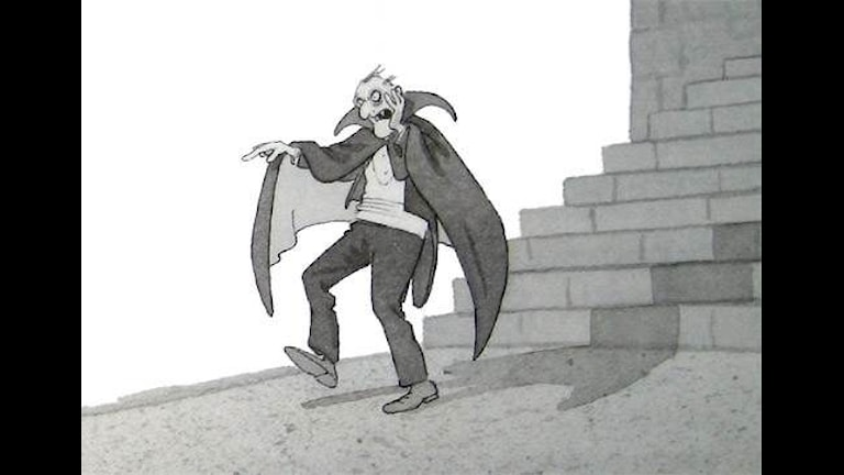 Monsterakademin del 5. Illustration: Christina Alvner