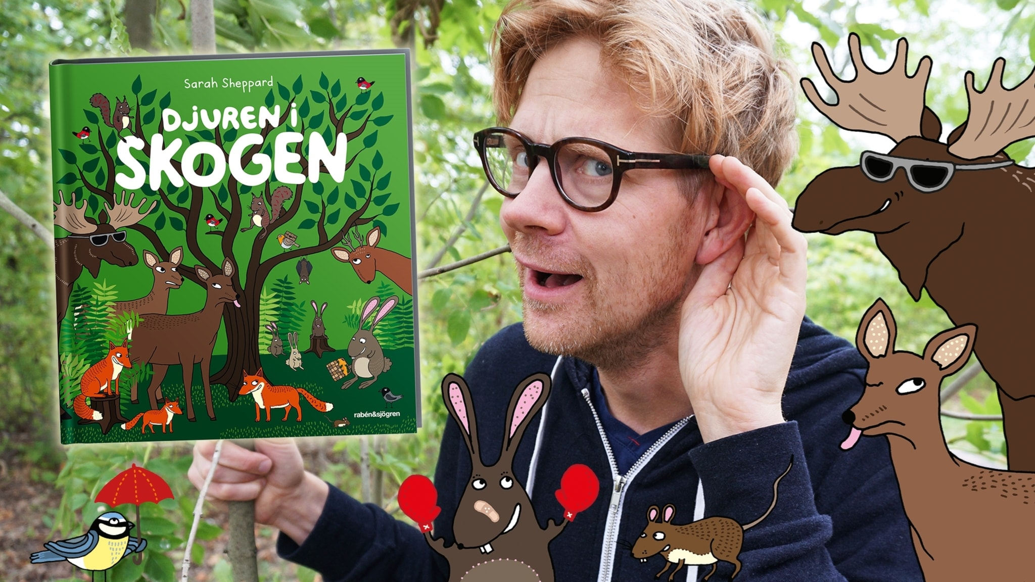 Djuren i skogen, del 1: Våren