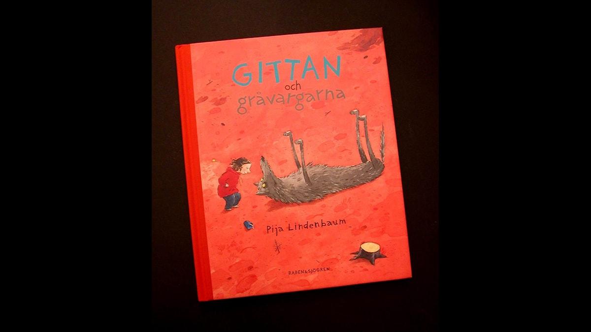 Småsagor: Gittan och gråvargarna Illustration: Pija Lindenbaum