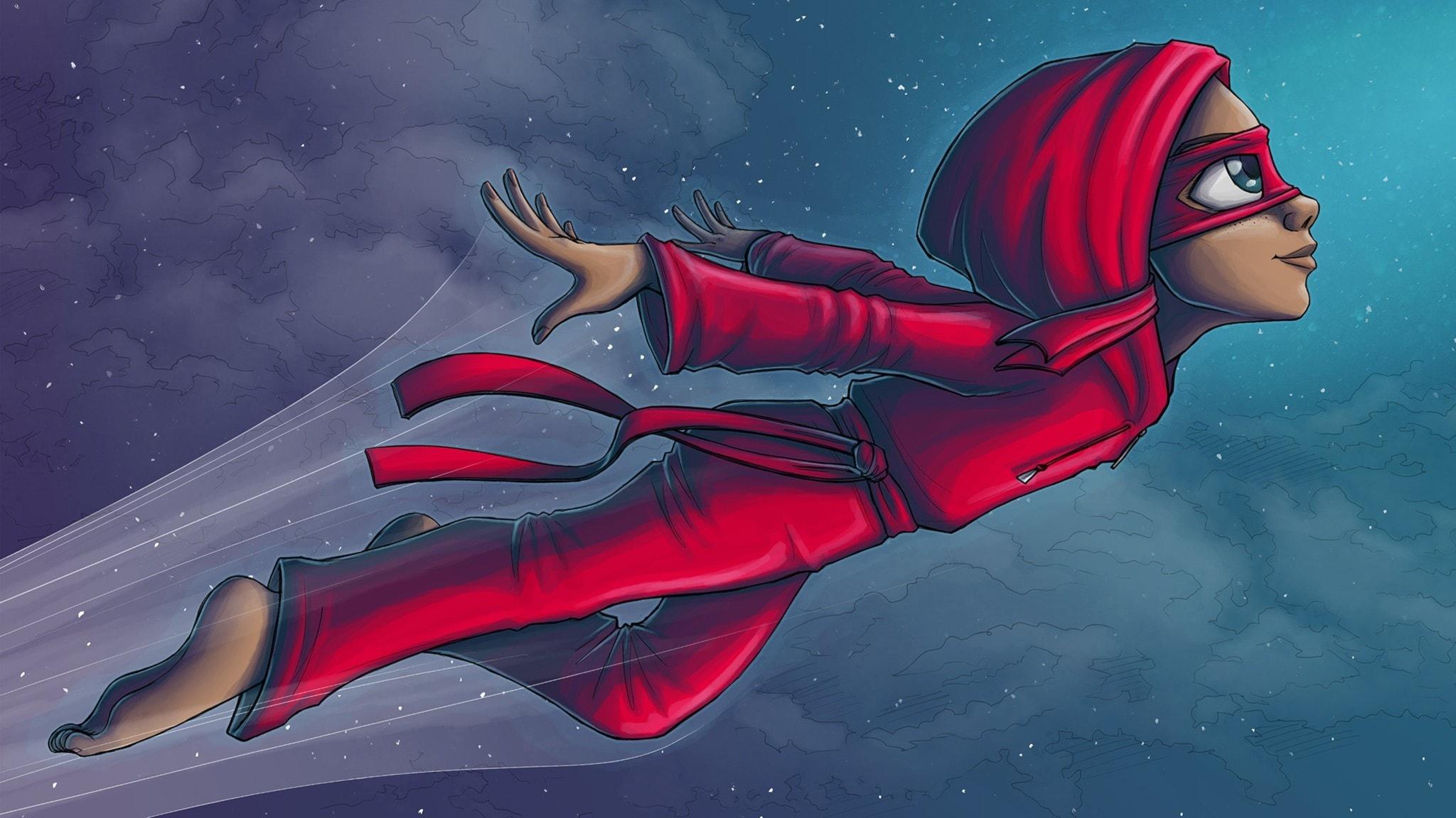 Sång: Röda Masken – från Handbok för superhjältar