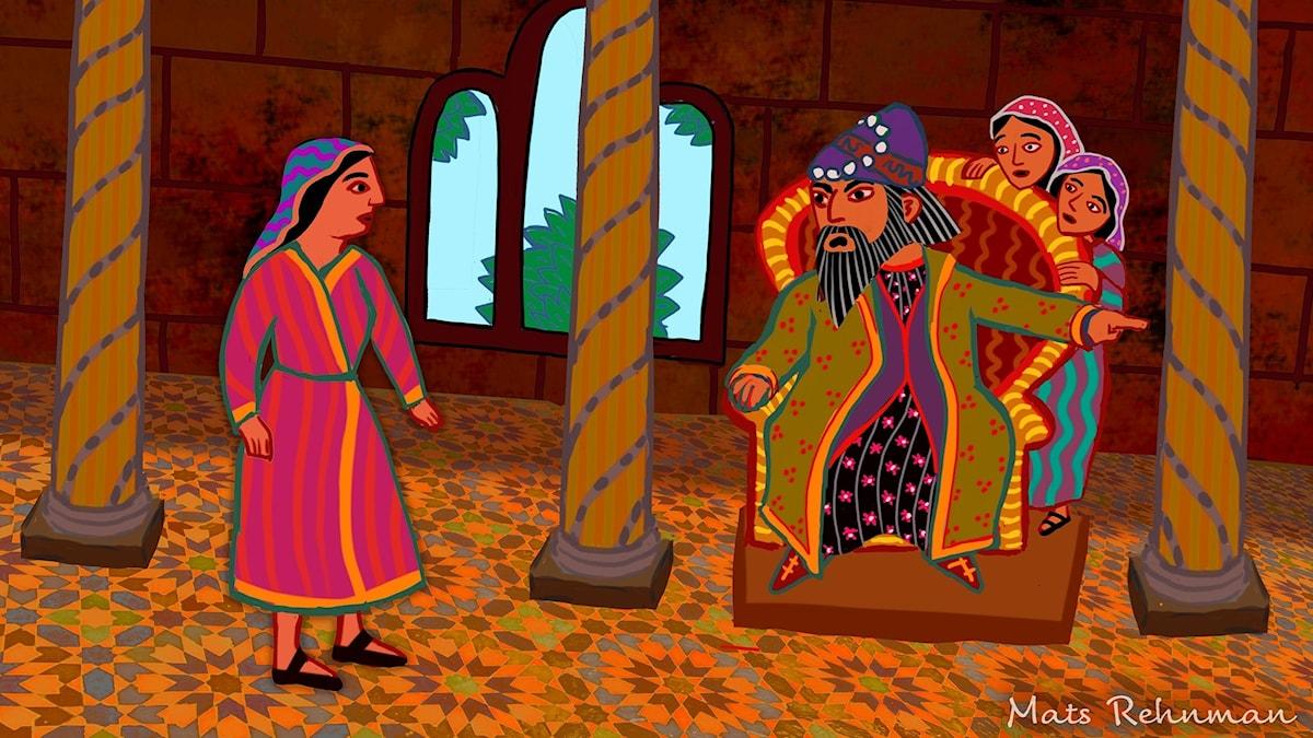 Arabiska sagor: Kungens och hans tre döttrar