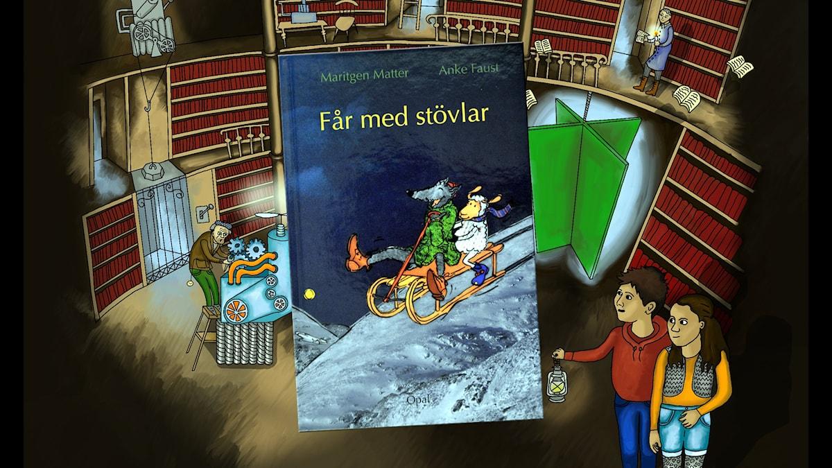 Magiska biblioteket: Får med stövlar Del 2 av 10.
