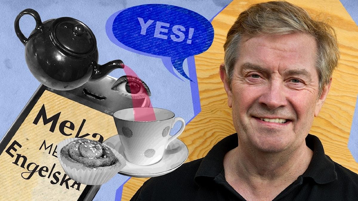 Meka med engelska Del 2 av 10: Tea time  © Foto: Fredrik Olsson/UR
