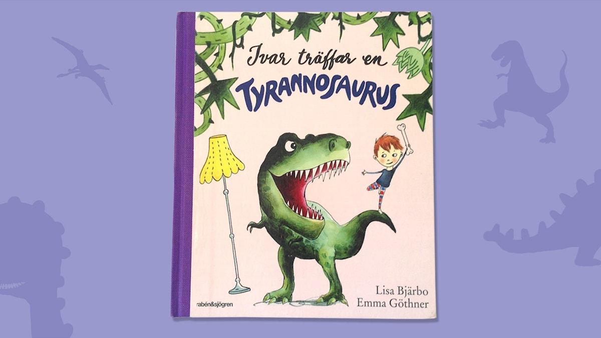 Dinosagor del 1: Tyrannosaurus. Omslag: Emma Göthner