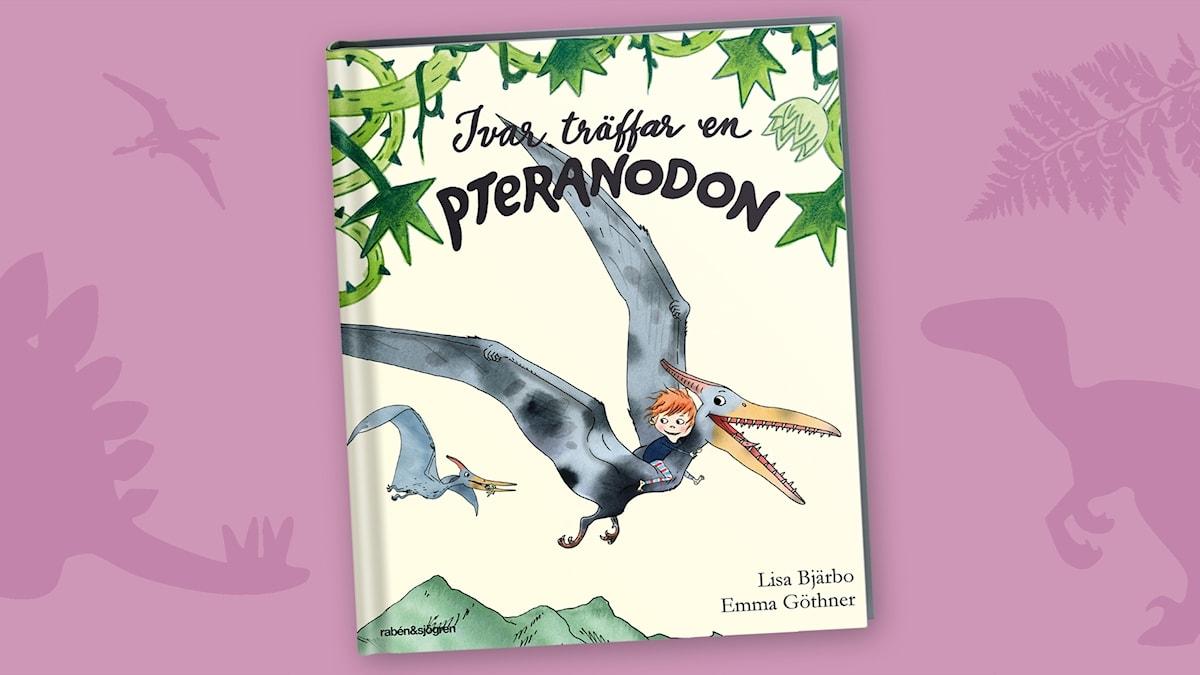 Dinosagor del 3: Pteranodon. Omslag: Emma Göthner