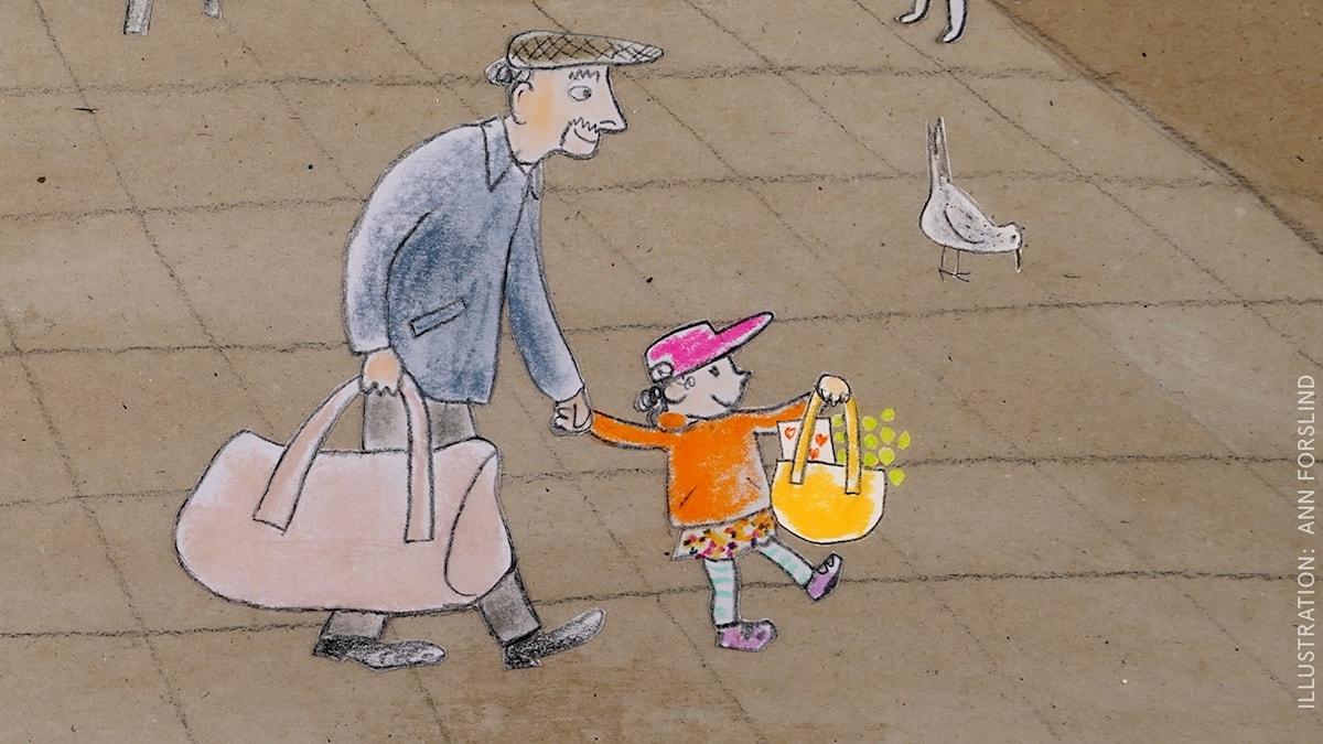 Tripp Trapp Träd: Väskan Illustration: Ann Forslind