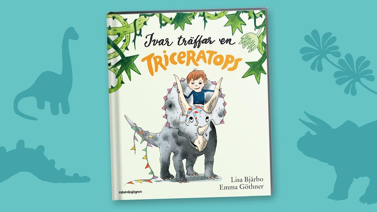 Dinosagor del 5: Triceratops. Omslag: Emma Göthner