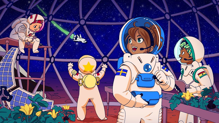Resan till Mars, del 5