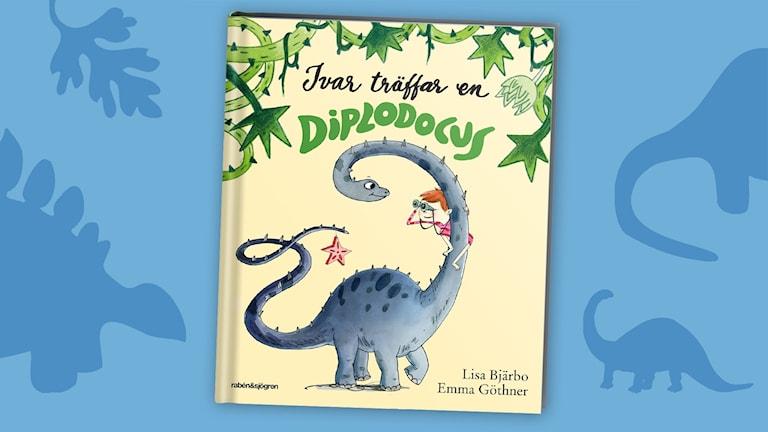 Dinosagor del 4: Diplodocus. Omslag: Emma Göthner