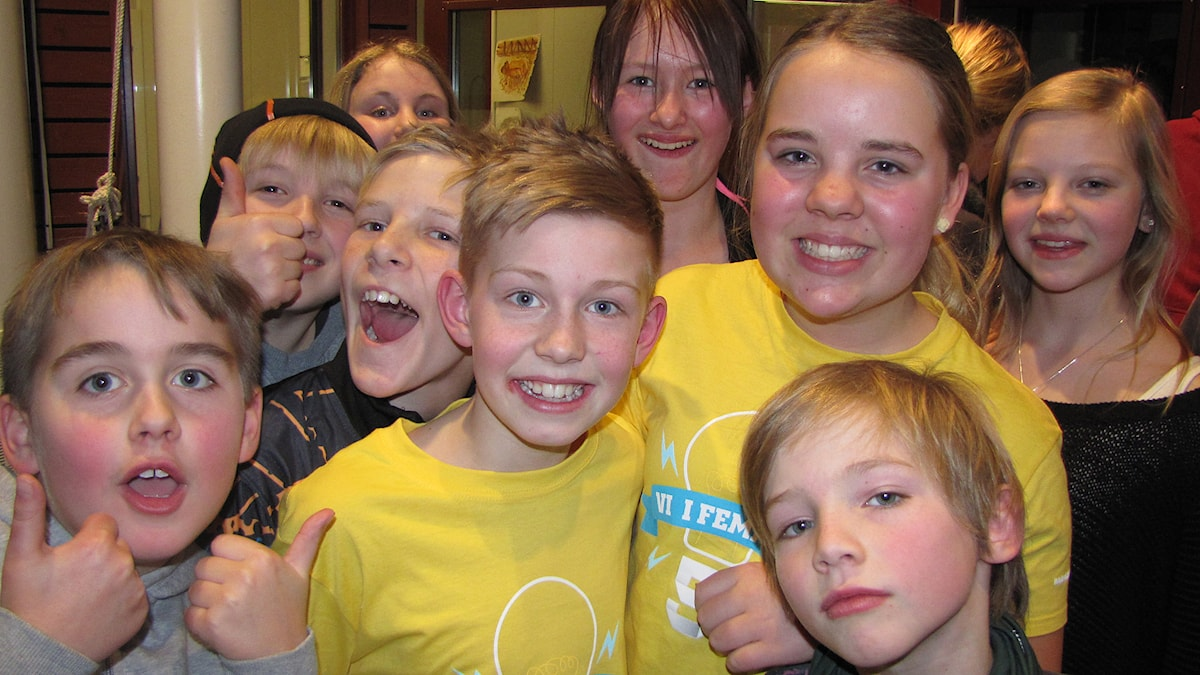 P4 Gotland: Norrbackaskolan