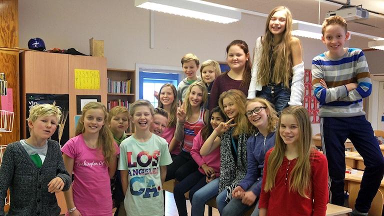 P4 Uppland: Bergaskolan klass 5A