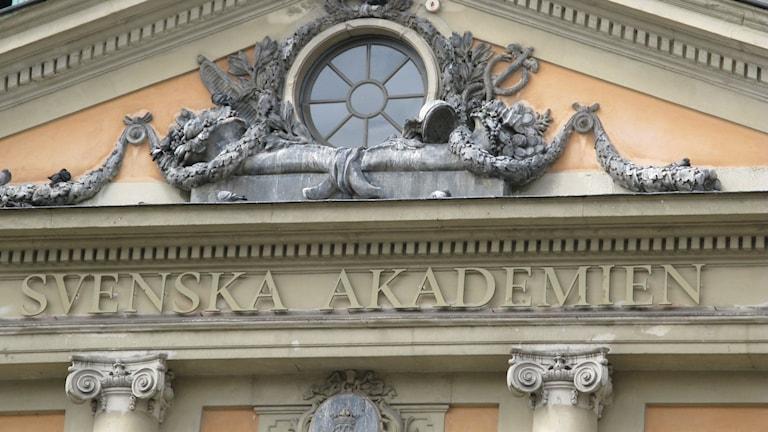 Svenska Akademien foto:Creative Commons