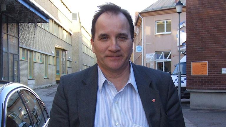 Stefan Löfven 2012. Foto: Tobias Sandblad/Sveriges Radio