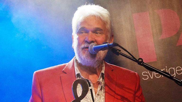 Hasse Andersson 2015. Foto: Stina Gullander/Sveriges Radio
