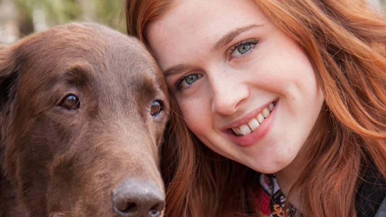 Amy Diamond. Foto: SVT (programmet Bulldog)