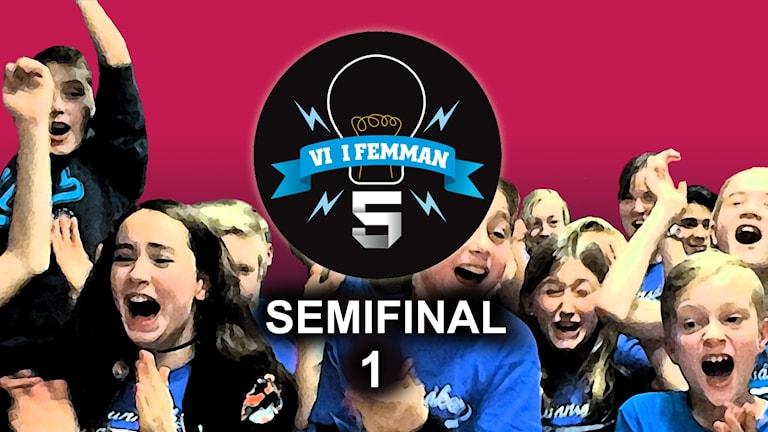 Semifinal 1 - avsnittsbild