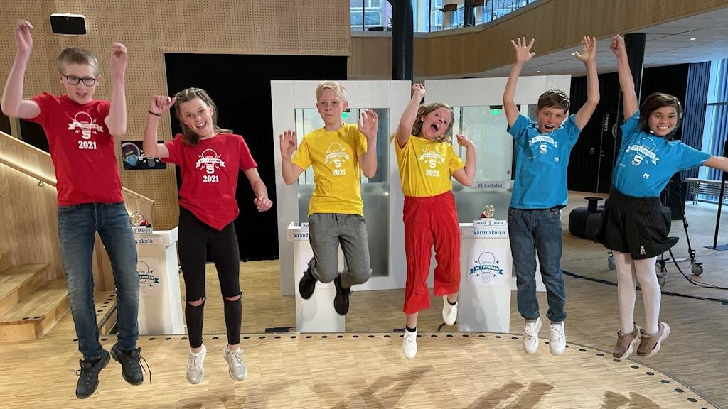 Finalisterna i årets final är från Örebro, Västerås och Lund.