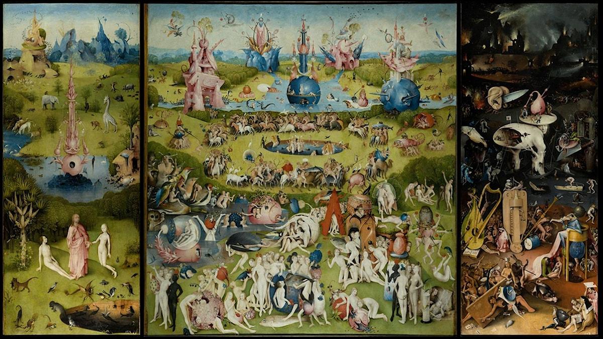 Lustarnas trädgård av H Bosch