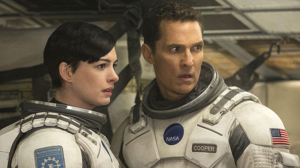 Anne Hathaway och Matthew McConaughey i Interstellar Foto: Warner Bros. Pictures