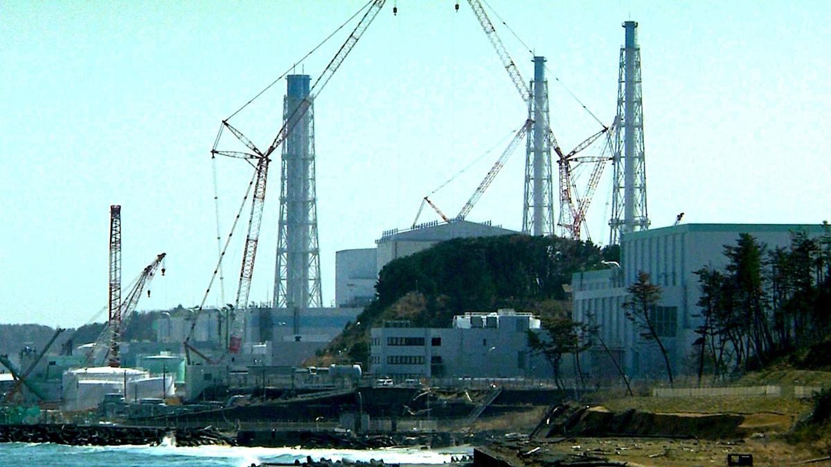 Kärnkraftverket i Fukushima i filmen Nuclear Nation 2 i regi av av Atsushi Funahashi.
