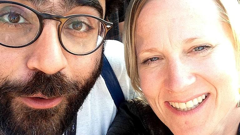 Saman Bakhtiari och Emma Engström summerar årets Cannesfestival. Foto: SR