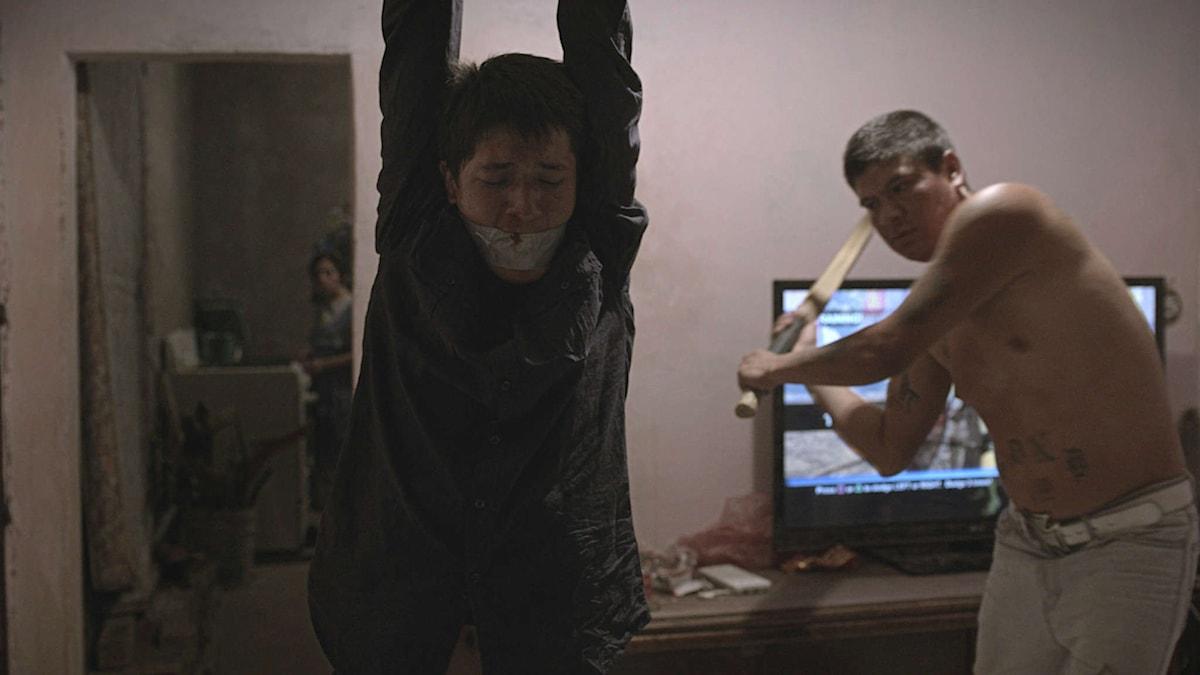 En scen ur den mexikanska filmen Heli i regi av Amat Escalante. Foto: Njutafilms