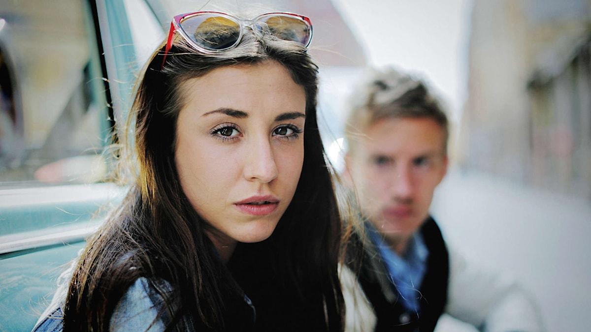 Madeleine Martin och Filip Berg spelar paret Isak och Em i Andreas Öhmans film Odödliga. Foto: © 2015 Naive AB