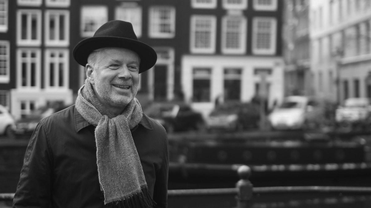 Regissören Magnus Gertten i Amsterdam. Foto: Saman Bakhtiari