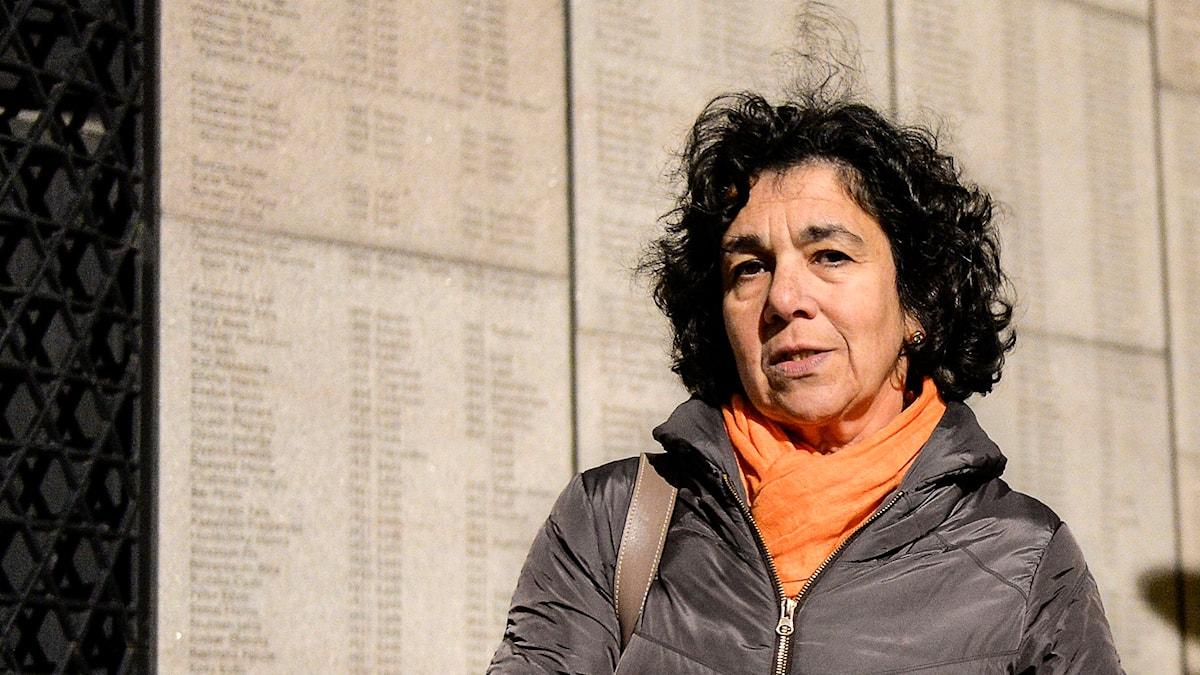 Lena Posner, ordförande för Judiska centralrådet. Foto: Anders Wiklund/TT