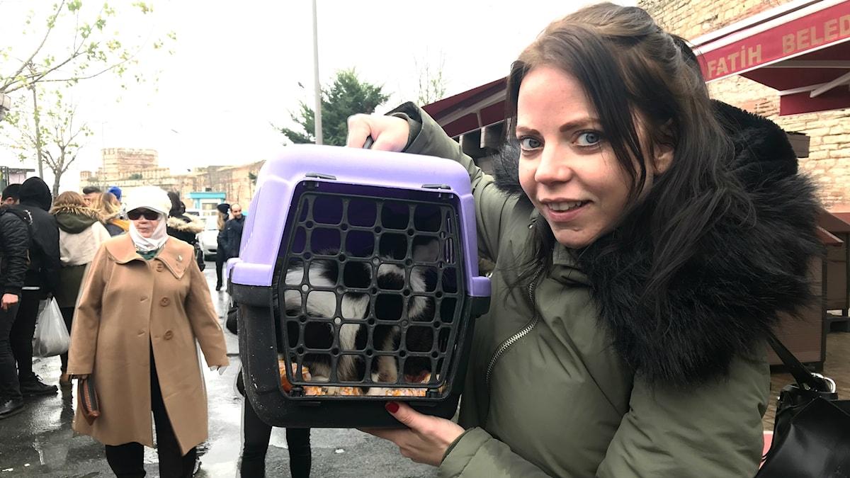 Svenska kattkvinnan i Istanbul