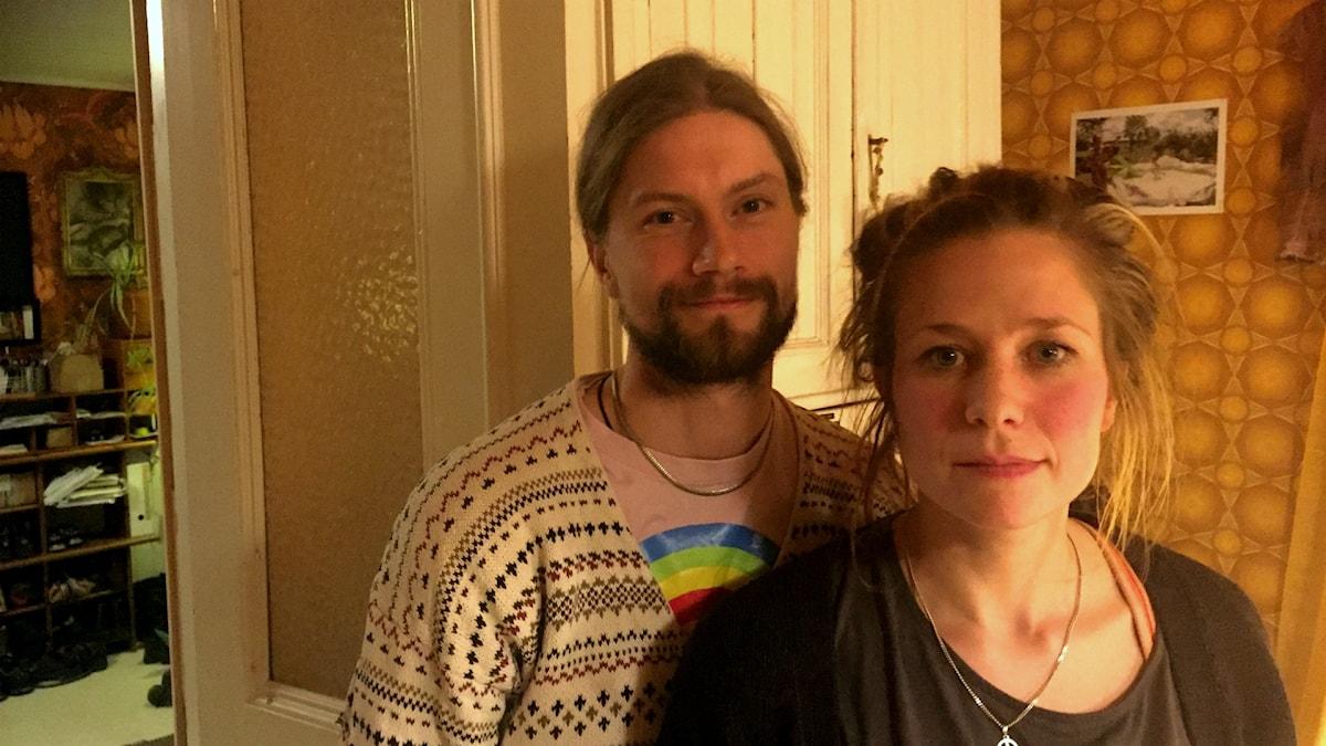 Politikerparet Lii Bergman och Elis Öqvist Bergman.