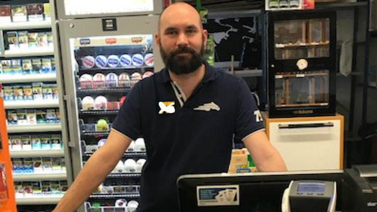 Niclas butiksägare