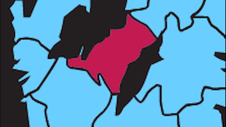 Karta P4 Skaraborg