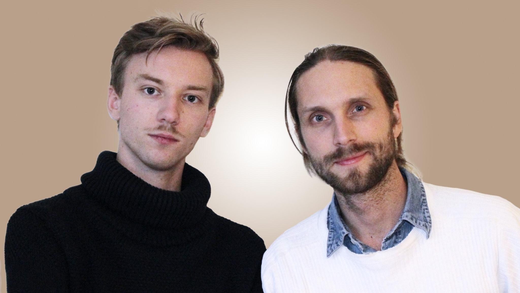 Med David Ohlsson och Niklas Clarkson