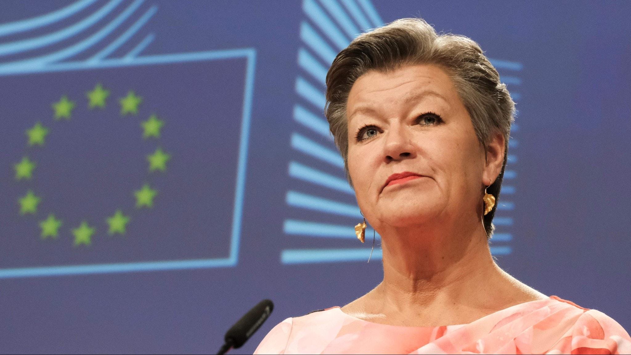 Ylva Johansson, EU-kommissionär