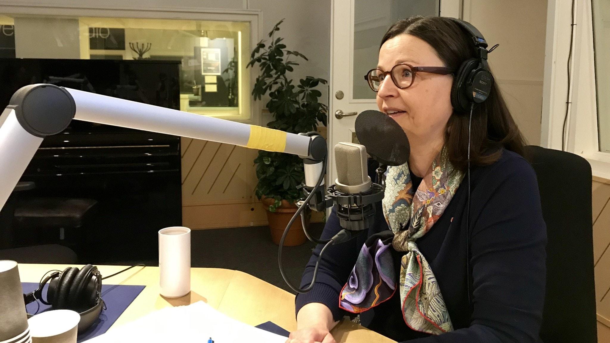 Ekots lördagsintervju med utbildningsminister Anna Ekström (S)