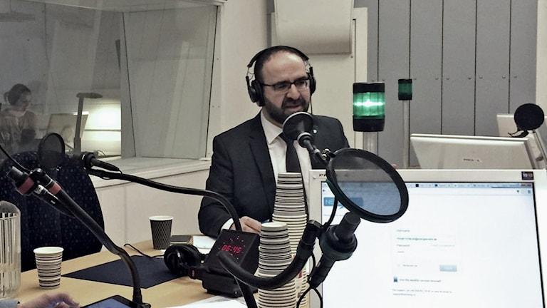 Bostadsminister Mehmet Kaplan