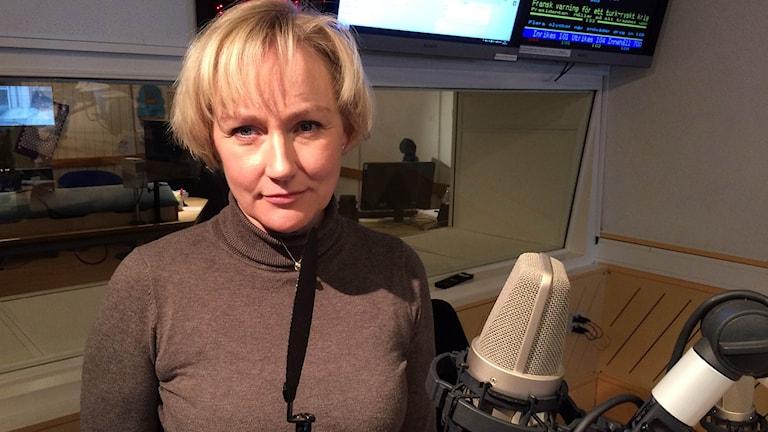 Helene Hellmark Knutsson lördagsintervjun