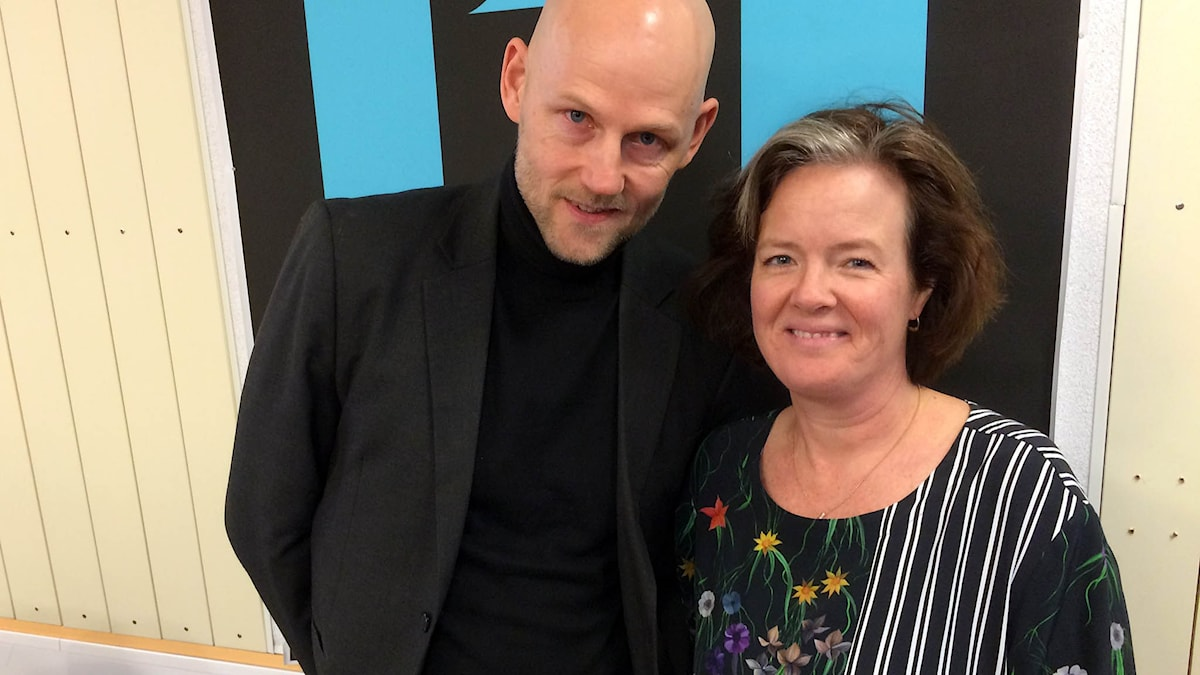 Jörgen Huitfeldt och Carin Jämtin, i Ekots lördagsintervju
