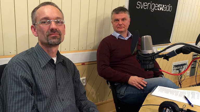 Jesper Hansson och Johan Westerholm.
