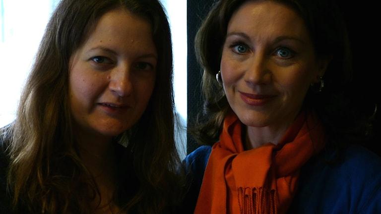 Journalisten Maggie Strömberg och statsvetaren Katarina Barrling