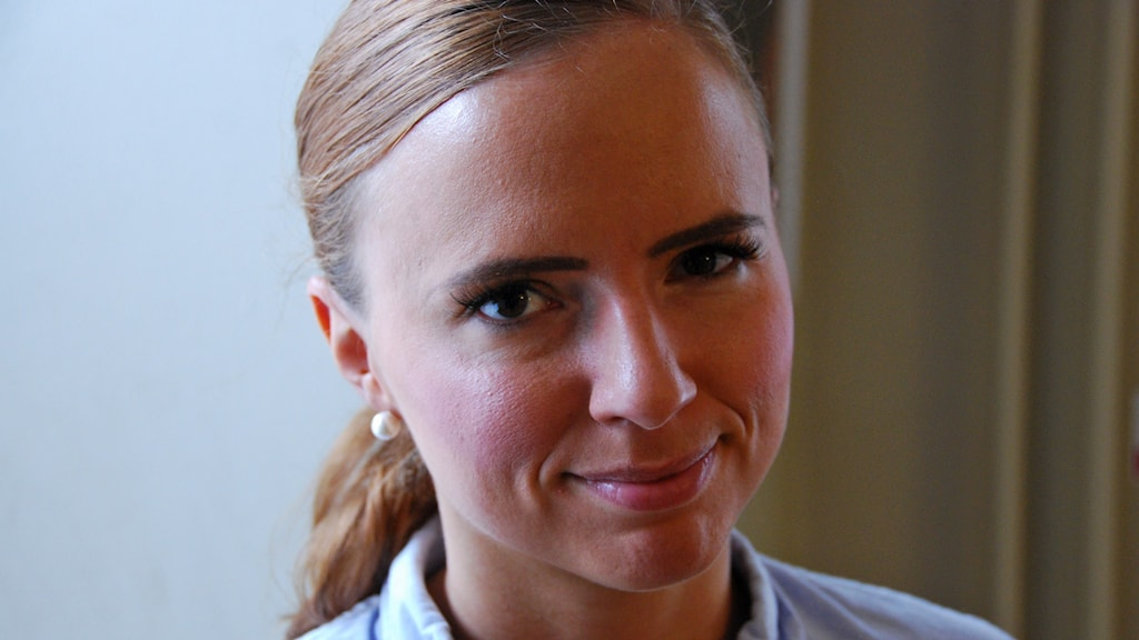 Sara Skyttedal, ordförande i KDU