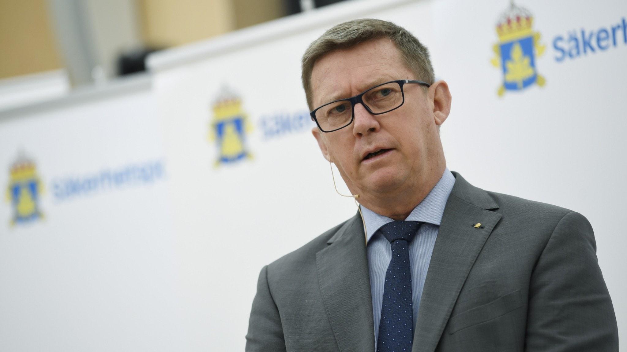 Säpos chef Klas Friberg