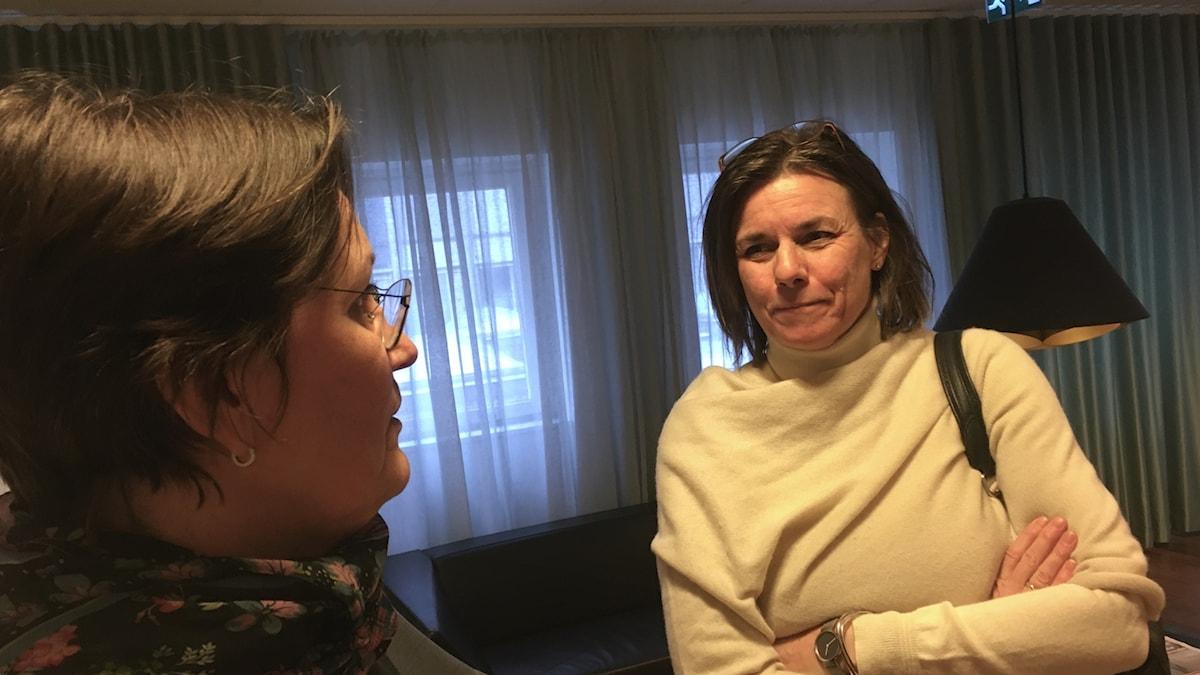 Isabella Lövin språkrör Miljöpartiet