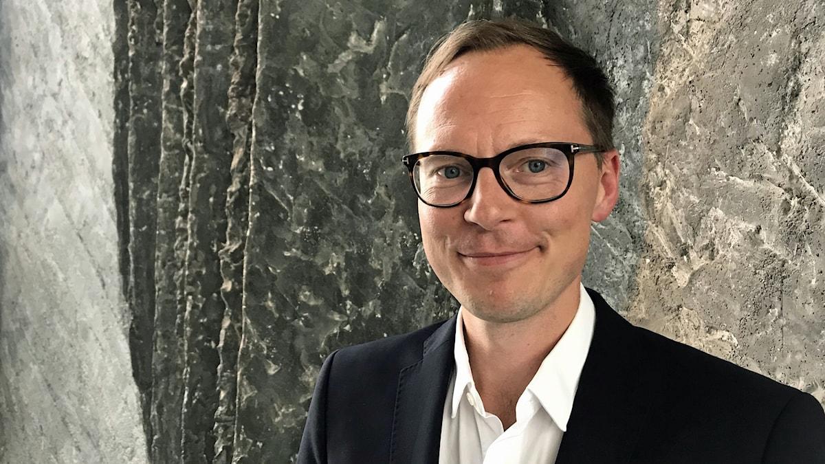 Liberalernas ekonomisk-politiska talesperson Mats Persson.